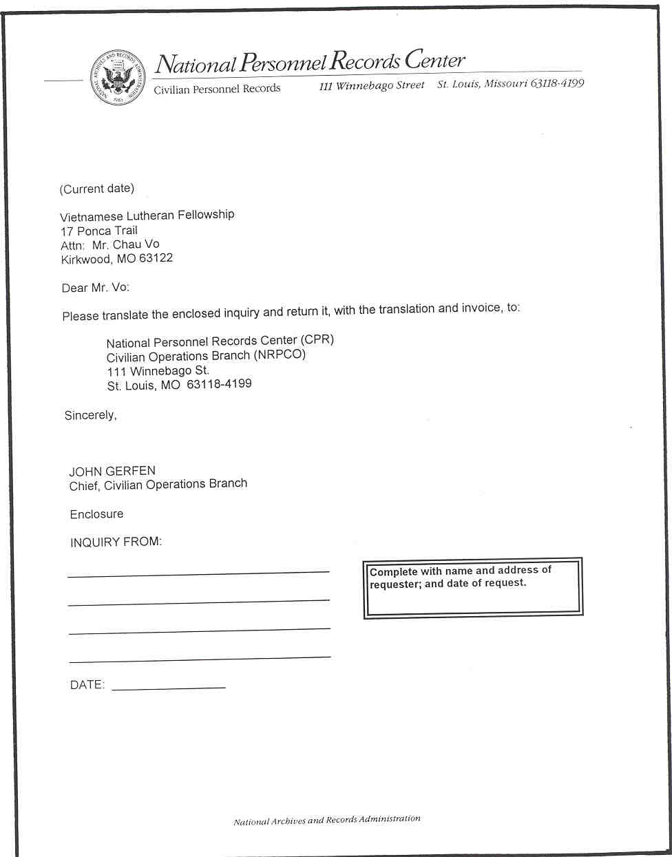 Sample letter of transmittal requesting translation from source – Transmittal Letter Template